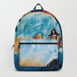 Rainy Day Blues Backpack