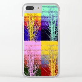 A Design for All Seasons Clear iPhone Case