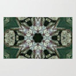 The Green Unsharp Mandala 6 Rug