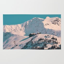 Mt. Alyeska Ski Resort - Alaska Rug