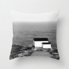 Cape Spear Lighthouse No.1 Throw Pillow