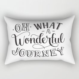 Oh What a Wonderful Journey Rectangular Pillow