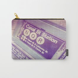Canal St Subway New York City Carry-All Pouch