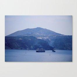 Santorini, Greece 8 Canvas Print