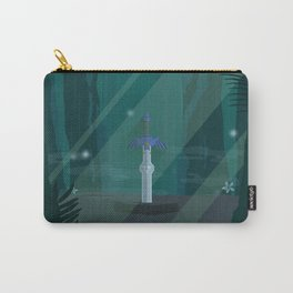 Lost Woods (Legend of Zelda) Travel Poster Carry-All Pouch