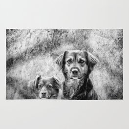 Couple of Dogs Rug