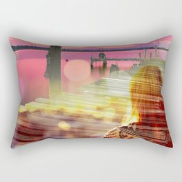 The Harbor Rectangular Pillow