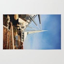 Esplanade Riel Suspension Bridge Rug
