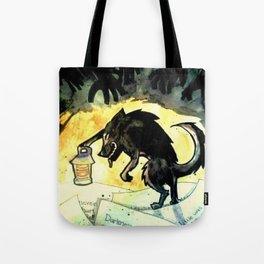 Storybook Wolf Tote Bag