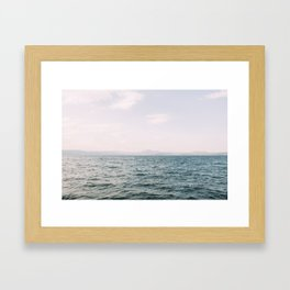 The Faintest of Distances Framed Art Print