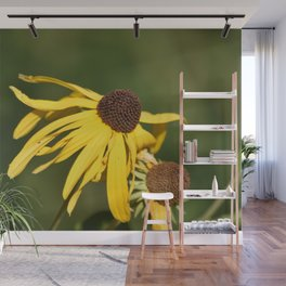 Yellow Whispers Wall Mural