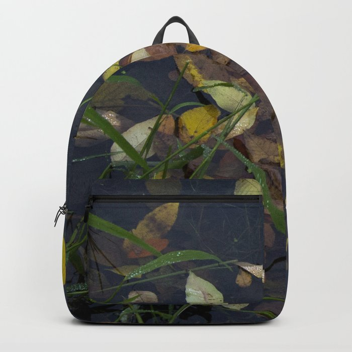 Leaves in the Water Backpack