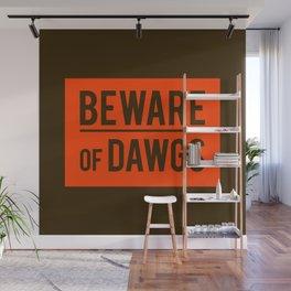 Beware Wall Mural