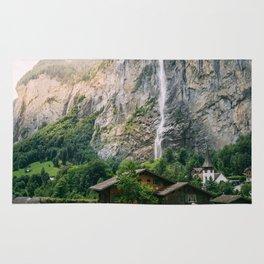 Lauterbrunnen Waterfall Rug