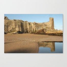 Castle on the Sand Canvas Print