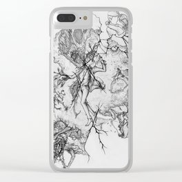 Say Hello To Scarecrow Clear iPhone Case