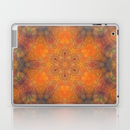 mandala 1 orange #mandala #orange Laptop & iPad Skin
