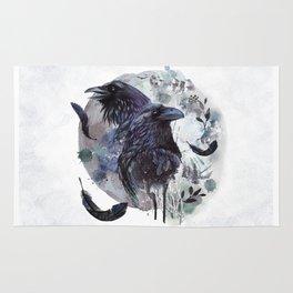 Full Moon Fever Dreams Of Velvet Ravens Rug