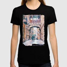 Carrer del Bisbe - Barcelona T-shirt