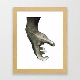 Ink Hand 1 Framed Art Print