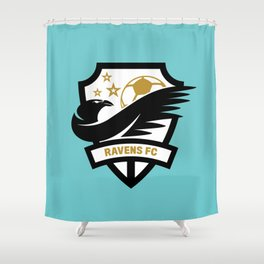 Ravens FC Classic Shower Curtain