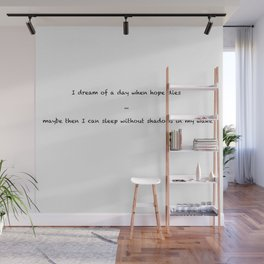 Dream of a day Wall Mural