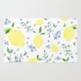 Fresh Lemon Serenade Rug