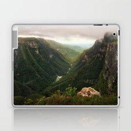 Canyon of Waterfalls Laptop & iPad Skin