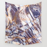 geology Wall Tapestries featuring Marble by Patterns and Textures