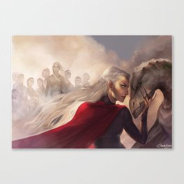 Manon and the thirteen Canvas Print