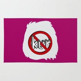 Dun Kur Bear [Don't Care Bear Pink] Rug
