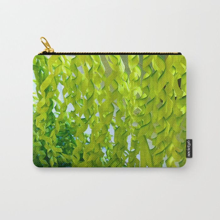 Palm Leaves Art Carry-All Pouch