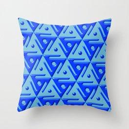 Geometrix 140 Throw Pillow