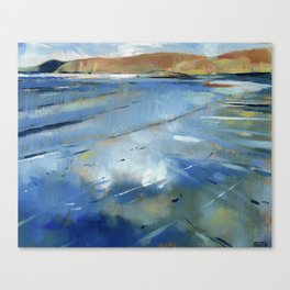 Sandwood Bay. Scotland Canvas Print