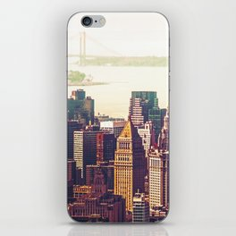 New York City Skyline Colors iPhone Skin