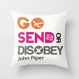 Go Send Throw Pillow