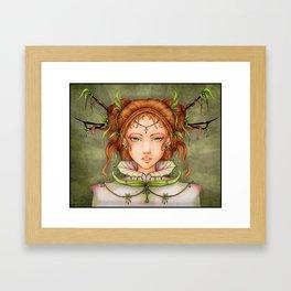 Queen of Light Framed Art Print