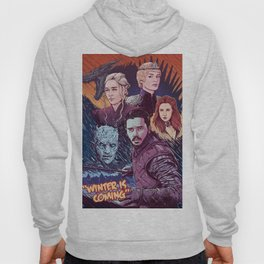 A Game of Fire, Ice and Thrones by Tom Walker Hoody