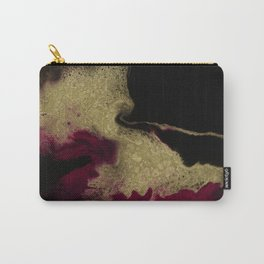 Black Honey - resin abstract painting Carry-All Pouch