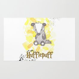 Hufflepuff - H a r r y P o t t e r inspired Rug