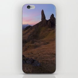 The Old Man of Storr iPhone Skin