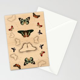 Butterfly Coordinates Stationery Cards