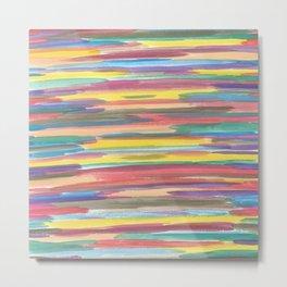 Rainbow Spectrum Metal Print
