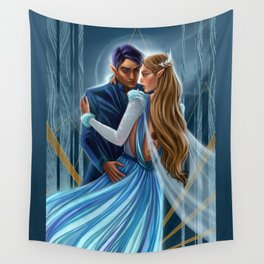 Starlight Feyre and Rhys Wall Tapestry
