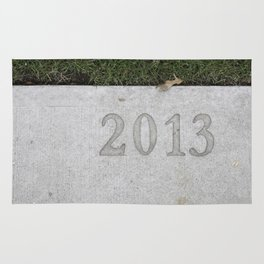 Granville Island sidewalk stamp 2013 Rug