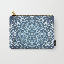Mandala dark blue Carry-All Pouch