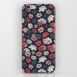 Water Lilies Pattern iPhone Skin