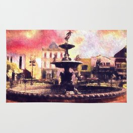 Fountain Square Park Rug