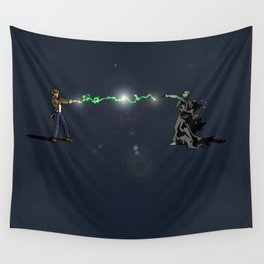 Who Potter Crossover Battle Wall Tapestry