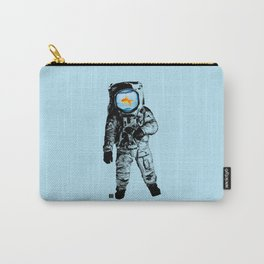 Goldfish Astronaut Carry-All Pouch